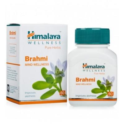 Брами (Брахми) - тоник для мозга и памяти (BRAHMI Himalaya), 60 таб.