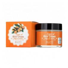 Крем для лица с аргановым маслом JIGOTT Argan Oil Rich Cream Корея, 70 мл