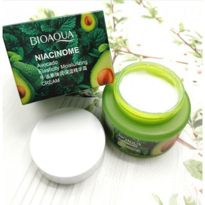 Крем для лица c авокадо-увлажняющий BioAqua Cream, 50 г