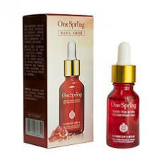 Сыворотка для лица с гранатом и гиалуроновой кислотой (One Spring Red Pomegranate Pulp), 15 мл