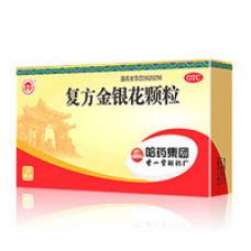"""Гранулы """"Фуфан Цзиньиньхуа"""" для лечения простуды и гриппа (Fu fang Jinyin hua Keli)"""