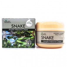 Ампульный крем для лица со змеиным пептидом Ekel Snake Ample Intensive Cream 100 г