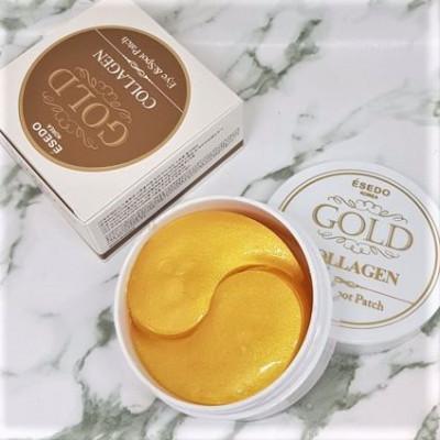 Патчи для глаз с биозолотом и коллагеном ESEDO Gold Collagen Eye & Spot Patch