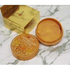 Патчи с золотом и свиным коллагеном SNP Gold Collagen Eye Patch