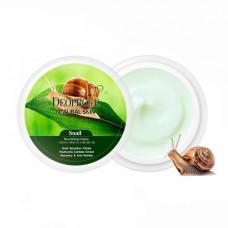 Крем для лица и тела c экстрактом улитки  Deoproce Natural Skin Snail Nourishing Cream