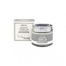 Крем для лица ампульный с молочными протеинами LEBELAGE White Tone Up Ampule Cream