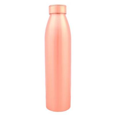 Медная бутылка для воды, матовая, Индия