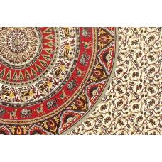 Хлопковое индийское покрывало (размер 220х240)