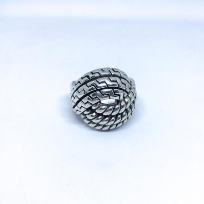 Кольцо серебряное, Индия